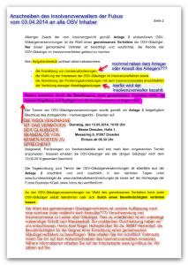 Gl Vertreter OSV Nichtwahl